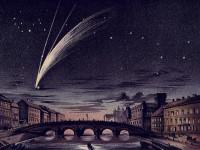 Il primo tentativo noto di fotografare una cometa