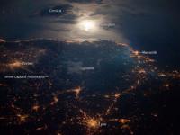 La NASA fotografa Torino dallo spazio