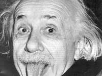 La foto più famosa di Albert Einstein