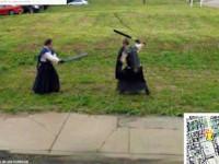 Foto da Google Street View- battaglia medioevale