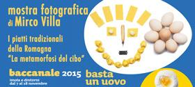 2015 - I Piatti Tradizionali della Romagna al Baccanale di Imola