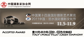 2011 - 14th International Photographic Art Exhibition in Cina