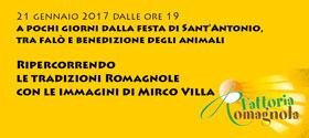 Ripercorrendo le tradizioni romagnole a pochi giorni dalla festa di Sant'Antonio tra falo' e benediz