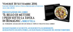 Presentazione del libro foografico a Villa Ortolani a Voltana